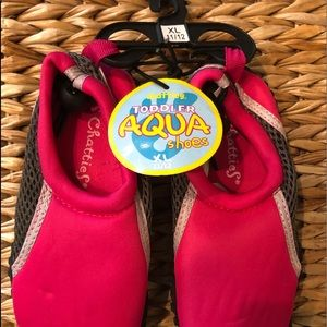AQUA SHOES Chatties toddler water shoes size 11/12